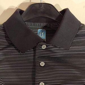 Officially Licensed PGA Tour Striped Polo - S
